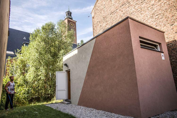 Une Mini Maison Pour Les Sans Abri